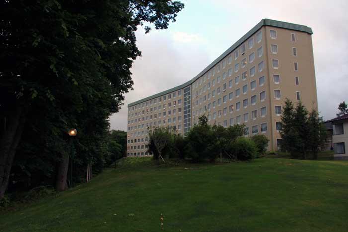 屈斜路湖のプリンスホテル