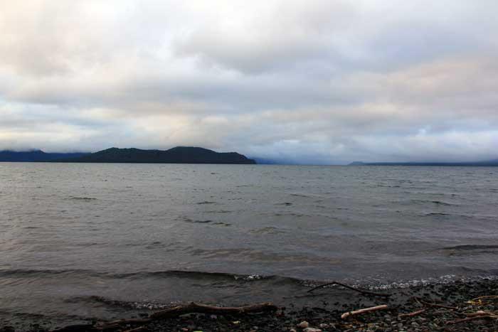 屈斜路湖の様子(北海道)