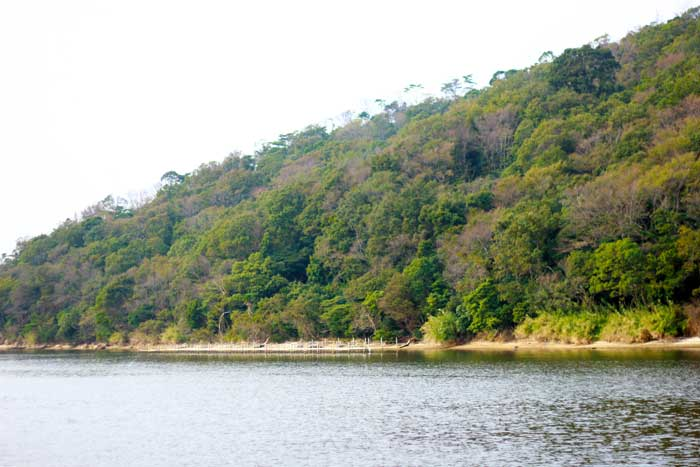 奥浜名丸からの浜名湖