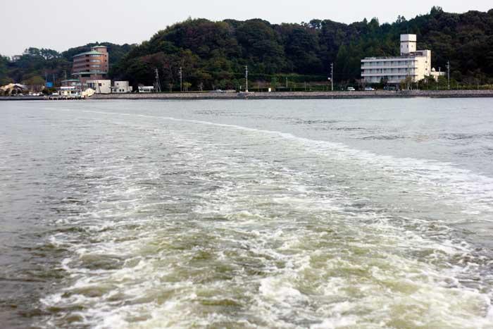 浜名湖を遊覧船で