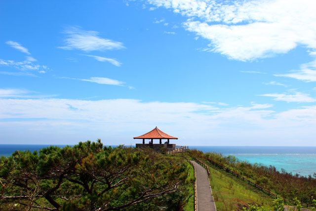 絶景景色の玉取崎展望台